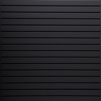 Black Slatwall Panels