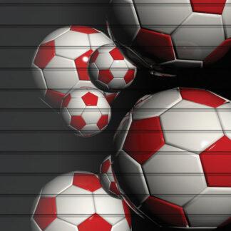 Soccer Slatwall Panels