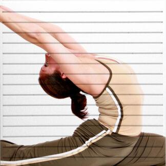 Yoga Themed Slatwall